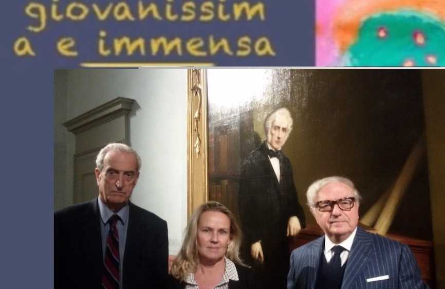 """Alessandro Manzoni e della servitù del Resegone nel libro """"Giovanissima e immensa"""""""