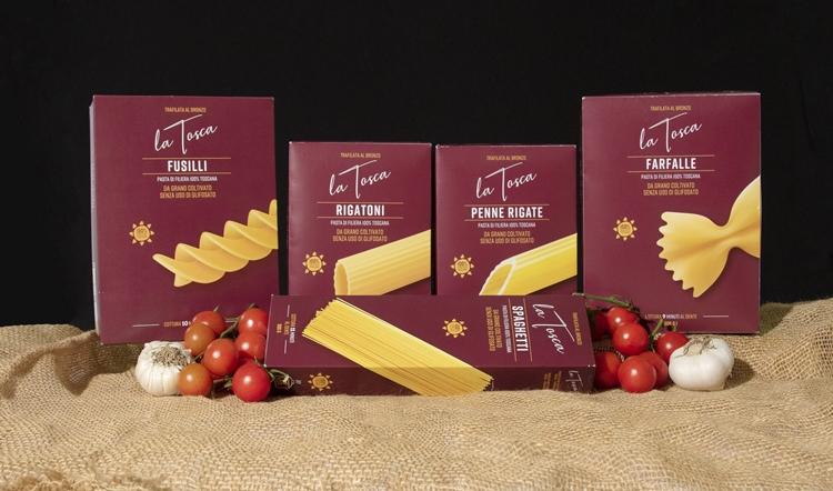 La Tosca, pasta nata e cresciuta in Toscana, compie un anno e diventa completamente sostenibile