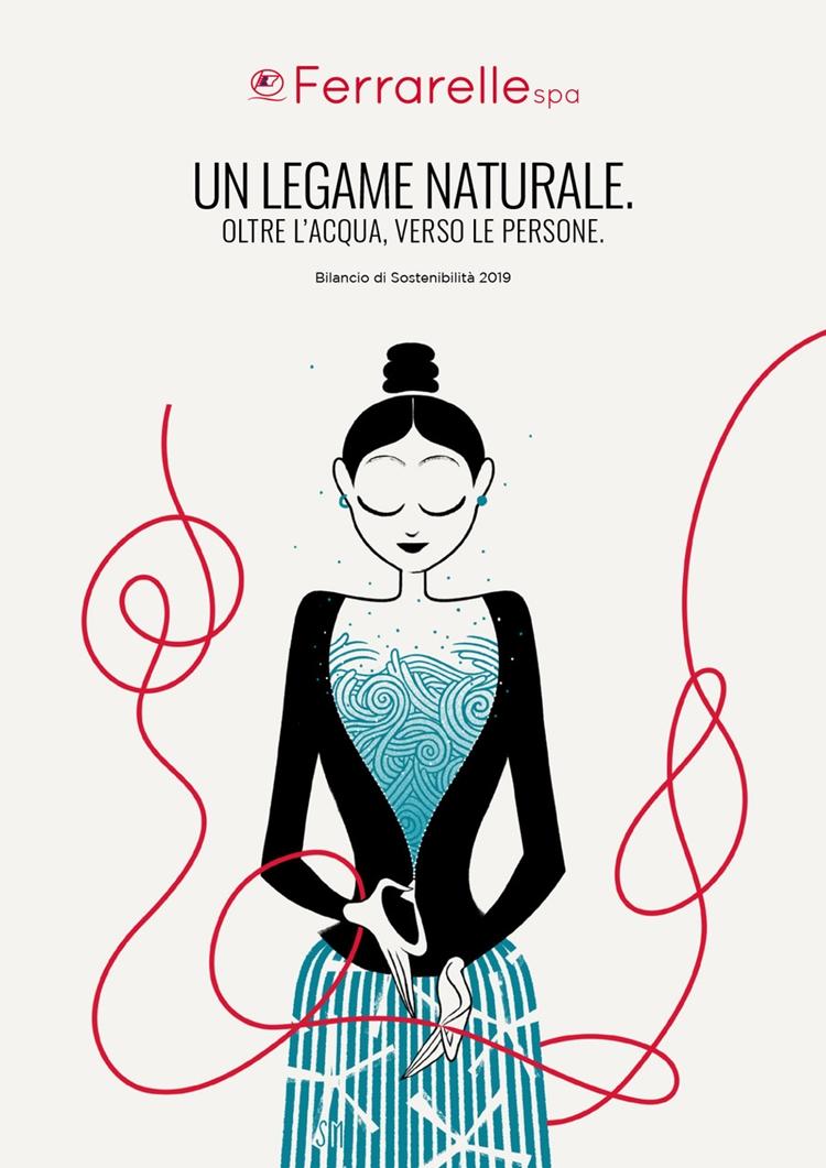 Ferrarelle S.p.A. lancia il suo terzo bilancio di sostenibilità: questa edizione realizzata con l'utilizzo della realtà aumentata