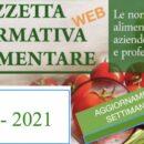 N° 2 – Gazzetta Normativa Alimentare Web – Settimana 11/1/2021 – 16/1/2021  by Newsfood.com