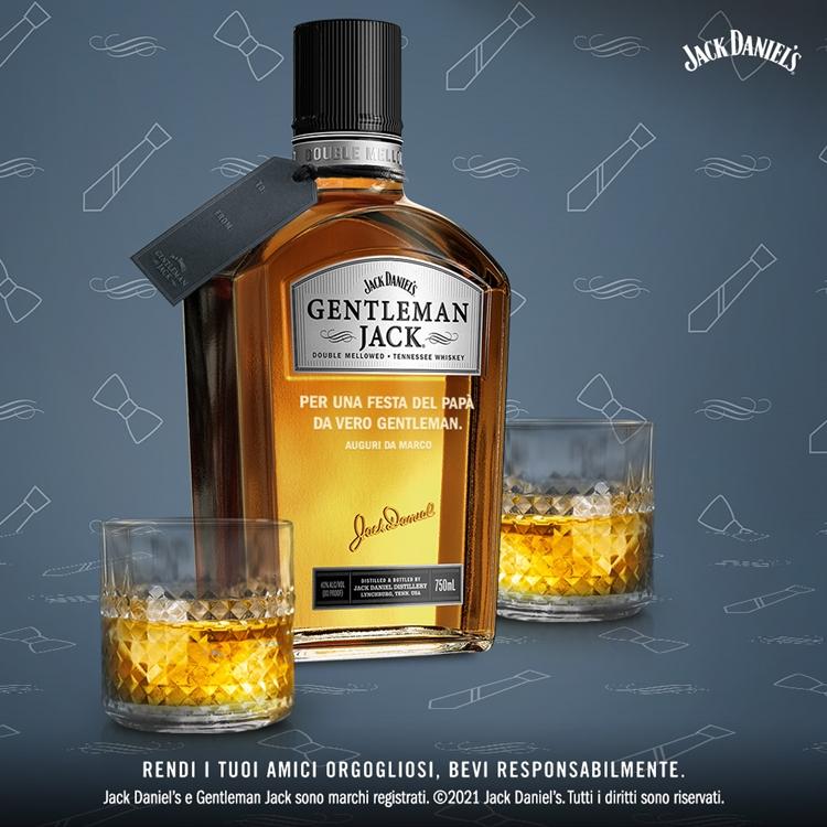 Gentleman Jack è il miglior regalo per la Festa del Papà
