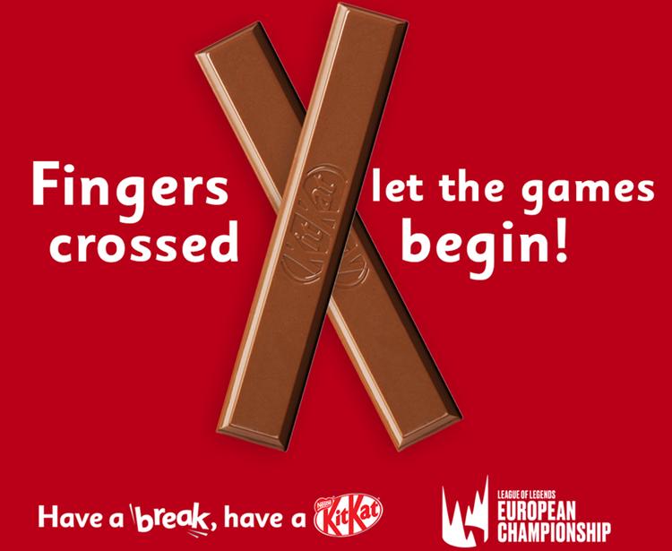 KitKat partner globale di League of Legends