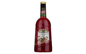 Liquore al Cranberry di Pircher, fresco, fruttato e persistente, dal colore rosso rubino