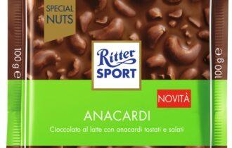 Ritter Sport lancia due nuove referenze per la linea Special Nuts
