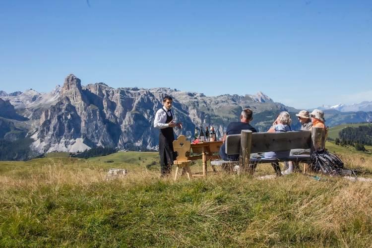 Alta Badia: Vins alaleria, degustazioni all'aria aperta dei migliori vini dell'Alto Adige