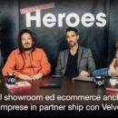 Vendere oggi: virtual showroom ed ecommerce anche per piccole imprese, anche in partnership con Heroes Marketing Velvet Media