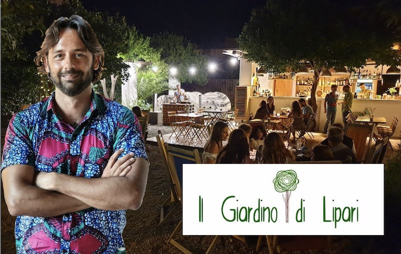 Il Giardino di Lipari di Luca Cutrufelli,  a Lipari, la mia meta tanto sognata