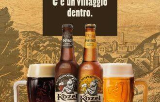 """Kozel arriva in Italia, """"La birra con un villaggio dentro"""""""