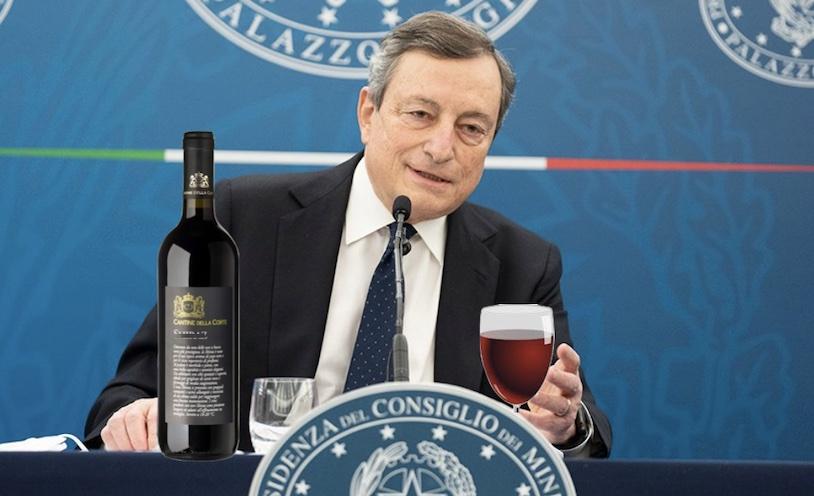 Il vino riparte? Draghi: il successo non sono i miliardi portati a casa ma come saranno investiti e non spesi male