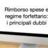 Rimborso spese e regime forfettario: i principali dubbi  by Michela – Il commercialistaonline.it