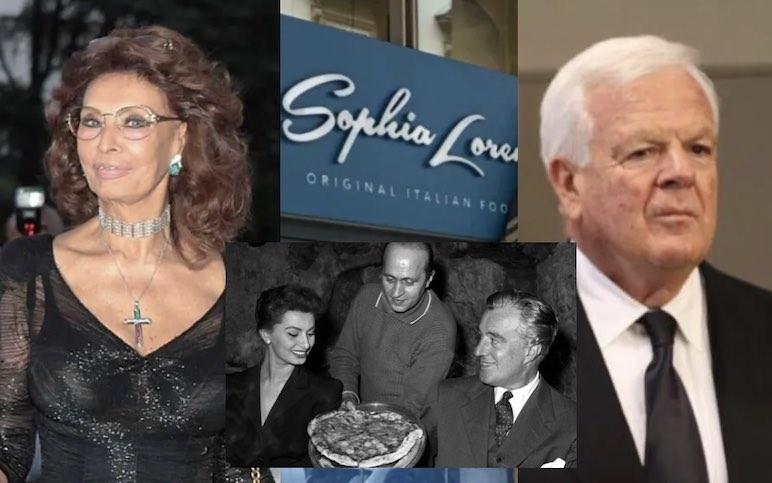 Sophia Loren Original Italian Food: a Firenze il primo ristorante di una catena destinata a diventare la n° 1 nel mondo