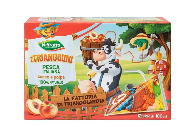 L'estate diventa ancor più divertente e gustosa con la nuova collezione di Triangolini Valfrutta!