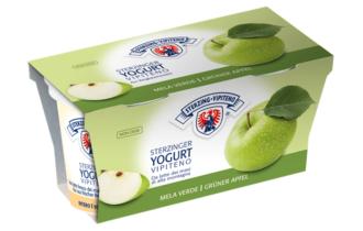 In arrivo tre nuovi gusti per gli yogurt di Latteria Vipiteno: Mela verde, pera e camomilla, mango