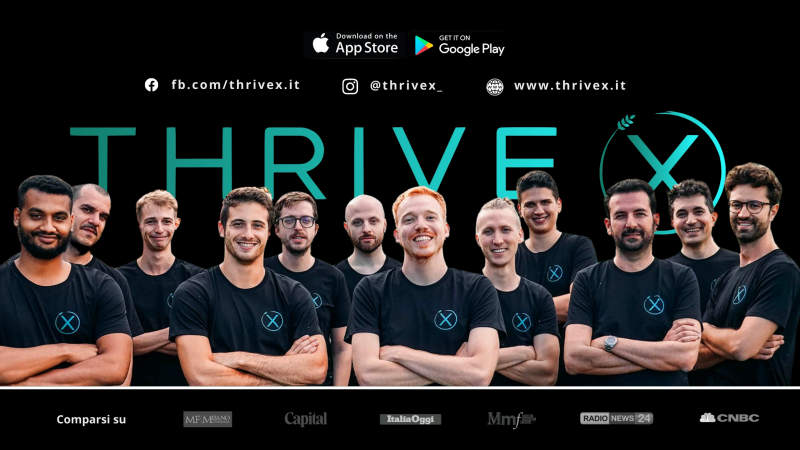 La start up veronese Thrive X lancia quattro App per fare Digital Marketing dallo smartphone grazie all'Intelligenza Artificiale