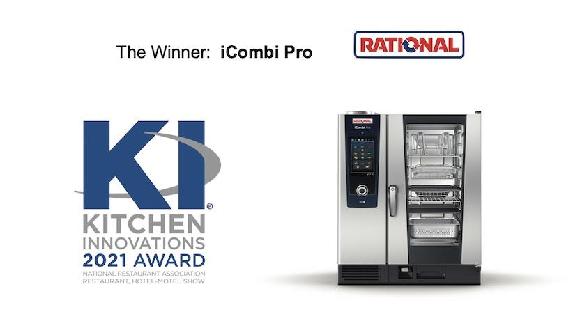 iCombi Pro Rational premiato in USA con il Kitchen Innovations Award 2021