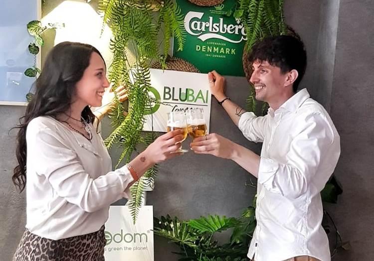 Blubai, la birra verde che fa crescere gli alberi
