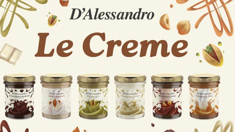 D'Alessandro Confetture: la nuova linea di creme spalmabili