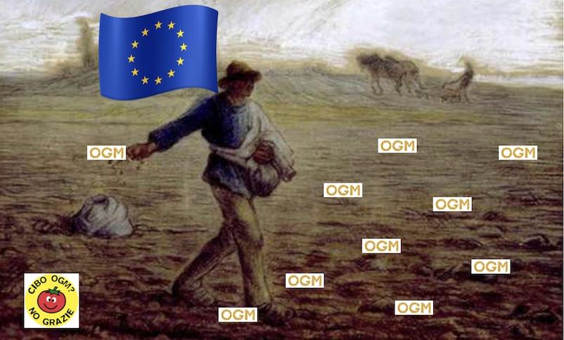 Allarme Slow Food: La Commissione europea fa marcia indietro e apre la porta ai nuovi OGM… è questo il bio green?… ma siamo matti?