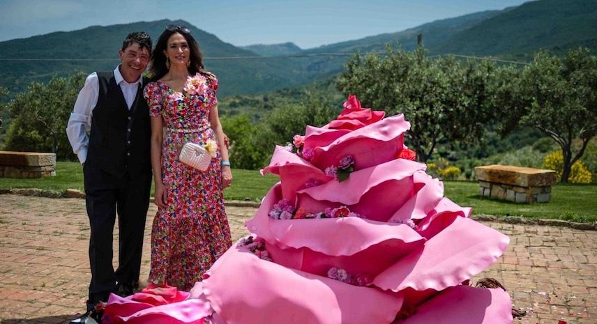 Festa delle Rose per Nicola Fiasconaro e Maria Grazia Cucinotta: protagonista la Rosa Damascena