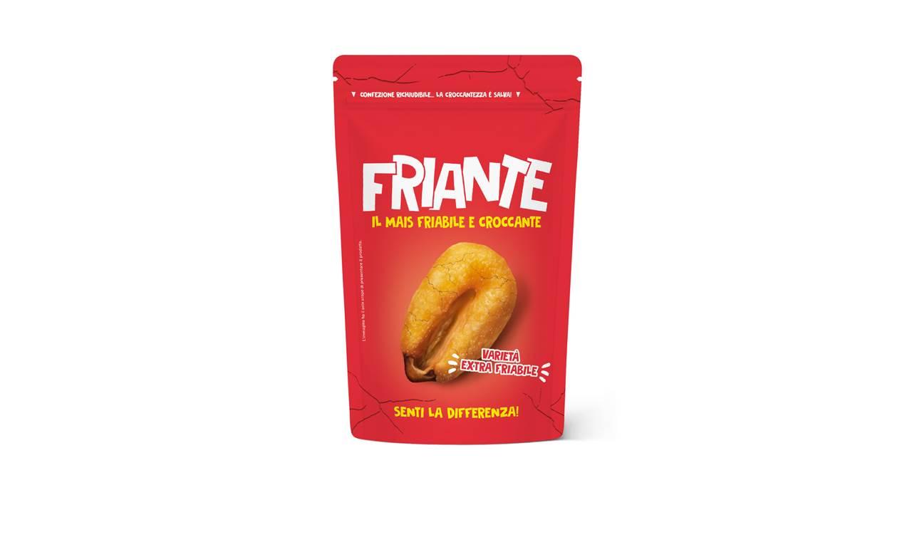 Friante: il mais tostato friabile e croccante… fino all'ultimo chicco!