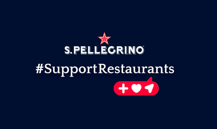 """S.Pellegrino presenta """"SOCIAL MENU per #SupportRestaurants"""""""