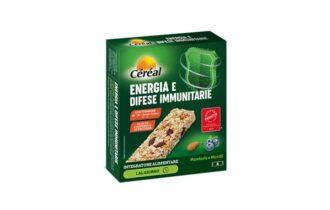 Integratori in barretta Céréal, energia e difese immunitarie