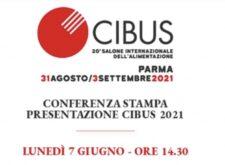 Conferenza stampa CIBUS 2021 – Sede ICE, 7 giugno 2021 – Invito Stampa