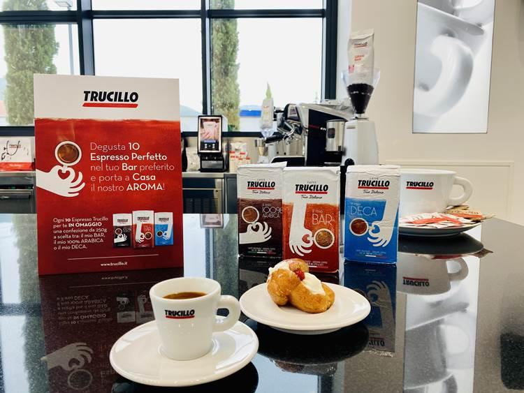10.000 kg di caffè omaggio: Trucillo sostiene la ripartenza dei bar