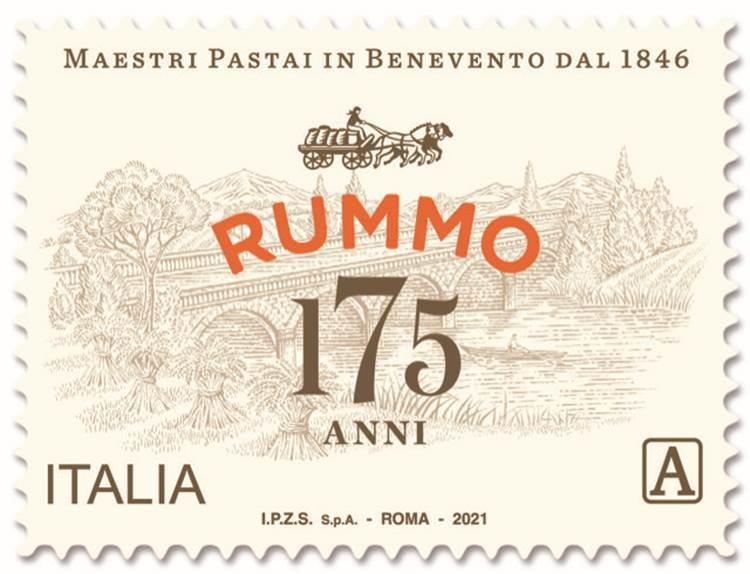 Rummo, in un francobollo celebrativo 175 anni di eccellenza e tradizione