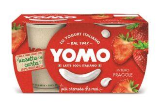Granarolo nel segno della sostenibilità: il vasetto della gamma yogurt Yomo Intero passa da plastica a carta 100% riciclabile