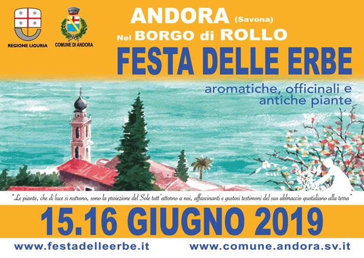 """Festa delle Erbe Aromatiche, Officinali e Antiche Piante"""" 15 – 16 Giugno 2019"""