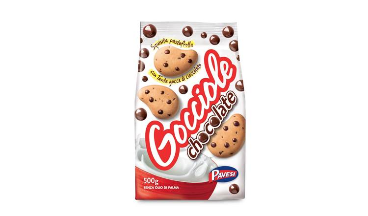 Il biscotto frollino numero 1 nelle vendite in Italia: le Gocciole Chocolate Pavesi