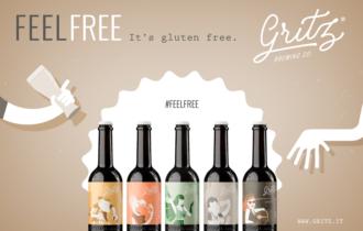 Il birrificio Gritz rivoluziona l'esperienza di bere birra con la nuova campagna Feel Free