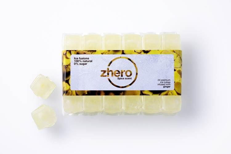 Arriva Zhero: per la prima volta in Italia ghiaccio aromatizzato in quattro gusti