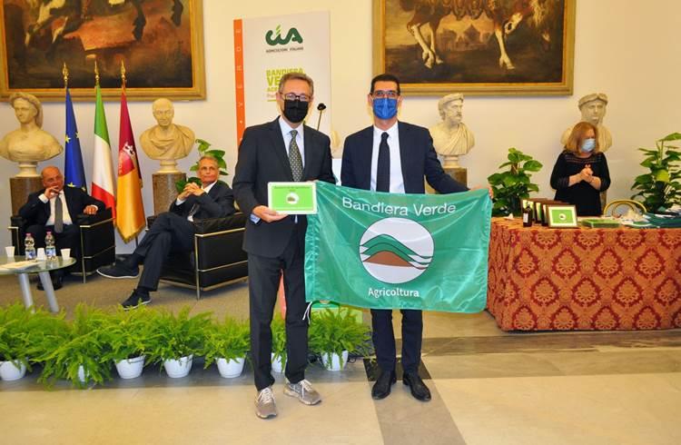 La Cupertinum in Campidoglio! Premiata con la Bandiera Verde Agricoltura
