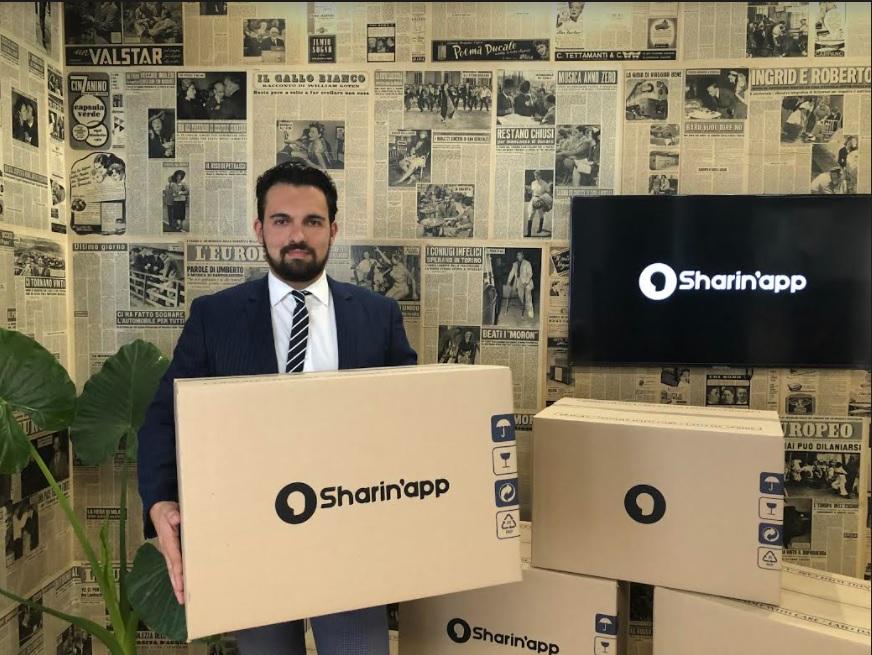SHARIN'APP, IL NUOVO UNIVERSO DELL'ECOMMERCE… per imprese e privati… local