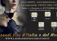 La Grande Festa del Vino 14° Edizione – Santa Maria di Sala, Venezia, 11 – 12 Settembre 2021