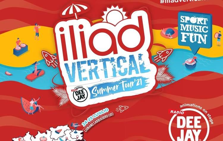 Nostromo torna sulle spiagge italiane con l'Iliad Vertical Summer Tour