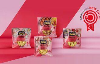 """Pastificio Rana: vince il premio """"Best New Entry"""" Brands Award 2021 nella sua categoria, per la nuova limited edition """"Rana – Giro d'Italia"""""""