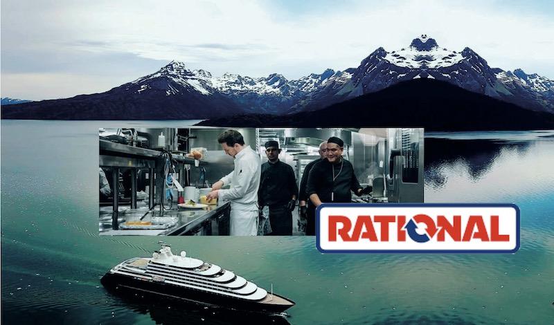 iKitchen, per cucinare in barca o sul transatlantico la soluzione è Rational, linea Marine