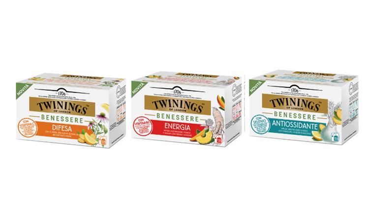 Nuova linea di tisane Twinings Benessere