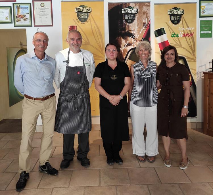 U.S.A.: Università dell'Arizona a lezione da Frantoio Bonamini