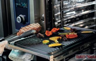 Nuove guide estraibili per i forni professionali combinati RATIONAL  per una maggiore facilità e praticità d'uso