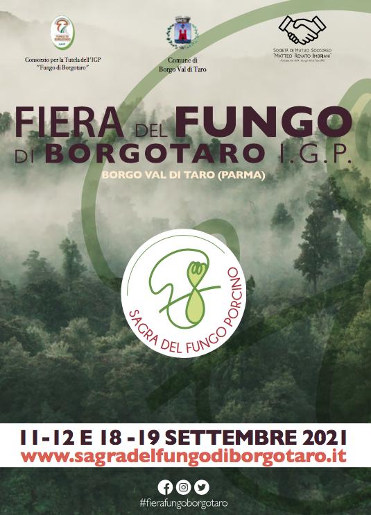 A Borgotaro c'è una star! Il Fungo Porcino IGP 11/19 sett