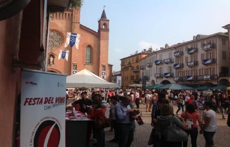 """Torna ad Alba la """"Festa del Vino"""", doppio appuntamento domenica 19 e domenica 26 settembre!"""