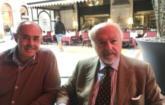 Enrico Marcora – Lista Fratelli d'Italia- incontra Colombo Clerici, Pres. Assoediliozia