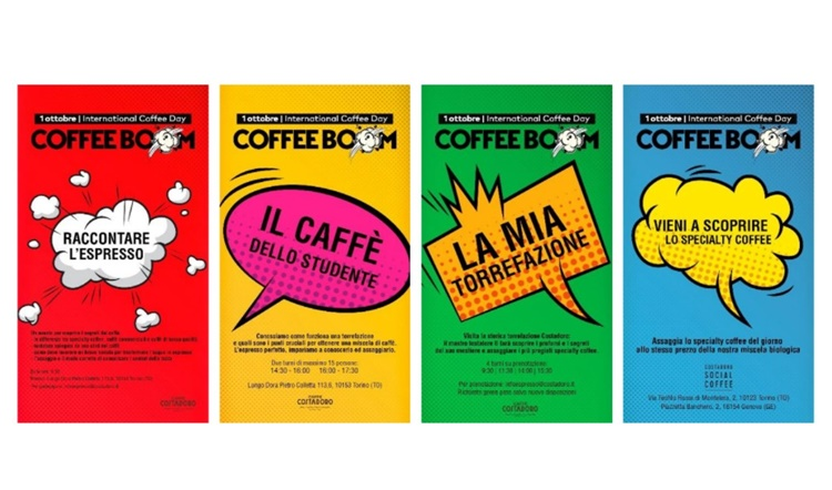 Costadoro apre le sue porte e partecipa all'iniziativa Coffee Boom nella Giornata Internazionale del Caffè