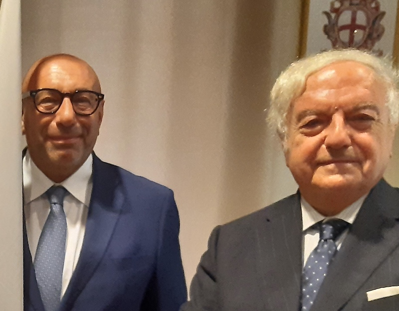 Assoedilizia: il presidente Colombo clerici incontra il candidato sindaco di Milano Luca Bernardo