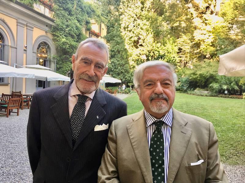 Achille Colombo Clerici incontra Franco De Angelis candidato della Lista Civica Bernardo al Comune di Milano