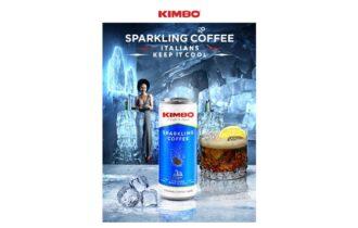 Kimbo presenta al mercato una nuova bevanda al gusto di caffè: Kimbo Sparkling Coffee